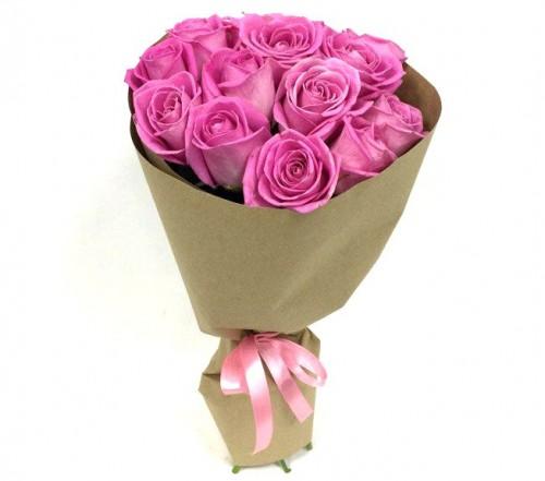 Букет из 13 роз (цвет в ассортименте)
