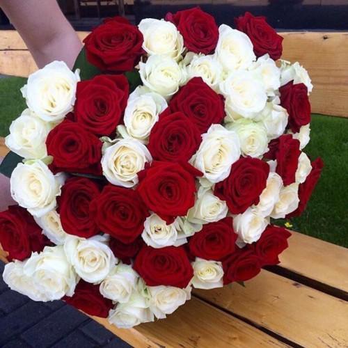 Букет микс 101 роза