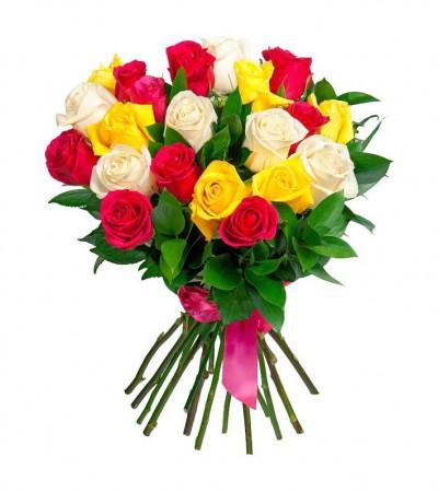 Букет микс 21 роза