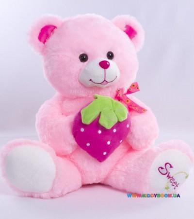 Медвежонок с клубничкой (50см)